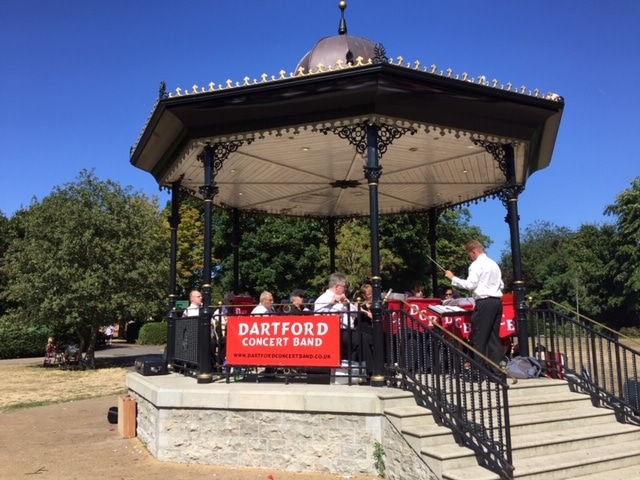 DCB in Dartford Park, August 2018